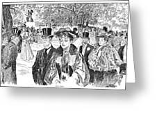 Gibson: Church Parade Greeting Card
