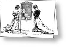 Gibson: Confessions, 1894 Greeting Card
