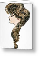 Gibson Girl, 1903 Greeting Card
