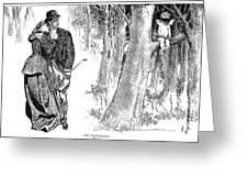 Gibson: Highwayman, 1898 Greeting Card