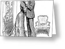 Kiss, 1903 Greeting Card