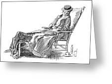 Gibson: Woman, 1898 Greeting Card
