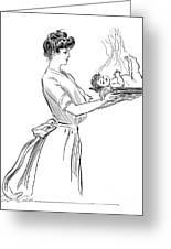 Gibson: Woman, 1903 Greeting Card