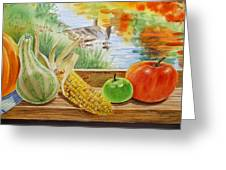Gifts From Fall Greeting Card
