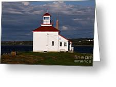 Gilbert Cove Lighthouse Greeting Card