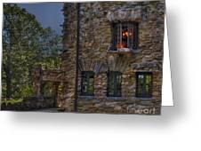 Gillette Castle Exterior Hdr Greeting Card