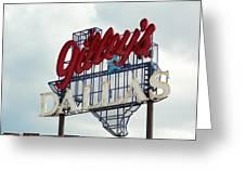 Gilleys Dallas Greeting Card