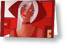 Gina Greeting Card