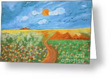 Gina's Meadow Greeting Card