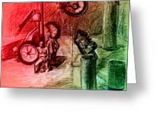 Giro D'italia 1 Greeting Card