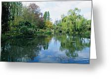 Giverny Gardens, Normandy Region Greeting Card