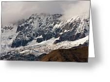 Glacial 01 Greeting Card