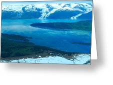 Glacial Exuberance Greeting Card