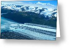 Glacial Highway Greeting Card