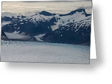 Glacial Panorama Greeting Card