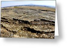 Glacial Rock Greeting Card