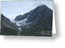 Glacier Bay Slopes Greeting Card
