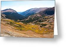 Glacier Cirque - Rocky Mountain National Park Greeting Card
