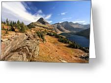 Glacier Hidden Lake Greeting Card