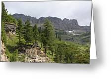 Glacier Nat Park Greeting Card