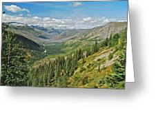 Glacier National Park 9275 Greeting Card