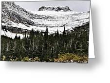 Glacier Park Bowlrock Greeting Card