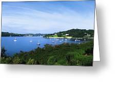 Glanmore Lake, Beara Peninsula, Co Greeting Card