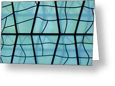 Glass And Shadows Greeting Card