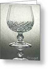 Glass Greeting Card