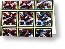 Glass Bricks Greeting Card