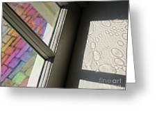 Glass Bubbles Greeting Card
