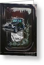Glass Etching Classic Greeting Card