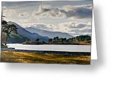 Glen Affric Panorama I Greeting Card