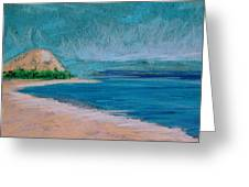 Glen Arbor Beach Greeting Card by Lisa Dionne