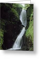 Glenariff Falls, Glens Of Antrim, Co Greeting Card