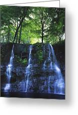 Glenariff Waterfall, Co Antrim, Ireland Greeting Card