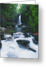 Glencar, Co Sligo, Ireland Waterfall Greeting Card