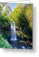 Glencar Waterfall, County Sligo Greeting Card