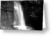 Glencar Waterfall Greeting Card