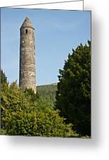 Glendalaugh Round Tower 10 Greeting Card