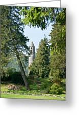 Glendalaugh Round Tower 11 Greeting Card