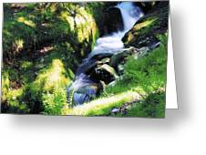 Glendalough, Co Wicklow, Ireland Greeting Card