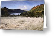 Glendalough County Wicklow Greeting Card