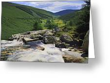 Glenmacnass, County Wicklow, Ireland Greeting Card
