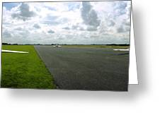 Gliders At Tibenham Greeting Card