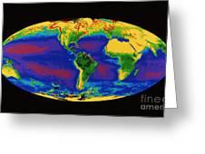 Global Biosphere Greeting Card