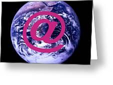 Global Communications Greeting Card