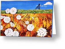 Glorious Goldfields Greeting Card