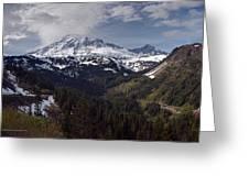 Glorious Mount Rainier Greeting Card