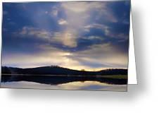 Glorious Skies Greeting Card